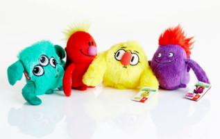 Nová kolekce hraček - Fly With Me Monsters