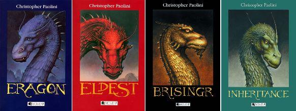 Christopher Paolini - Eragon, Eldest, Brisingr, Inheritance