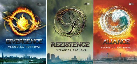 Veronica Roth - Divergence, Rezistence, Aliance